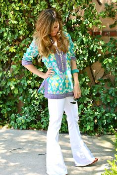Sheridan French bright tunics ~ in love!
