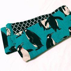 ペンギンの帯 - のんびりきものライフ
