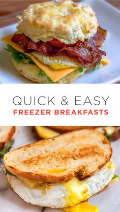 Freezer Meal Breakfasts to use this busy holiday season!