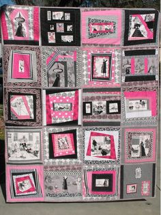 Ye Olde Sweatshop: Grand Canal Scrap Quilt - Part Two - Log Cabin Block Tutorial Halloween Quilts, Halloween Sewing, Halloween Boo, Halloween Ideas, Quilting Projects, Quilting Designs, Quilting Ideas, Sewing Projects, Diy Projects
