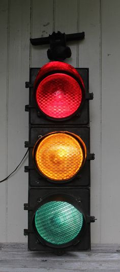 Vintage Working GE Traffic Light // Schenectady New York by MyBarn