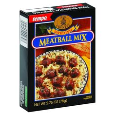 Seasoned with a dash of allspice and nutmeg, this mix makes moist and tasty old-world meatballs. Ingredients : Bread Crumbs (Enriched Flour [Flour, Malted Barley Flour, Niacin, Ferrous Sulfate, Thiami