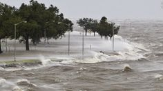 Hurricane Isaac storm surge tops levee in Plaquemines Parish Lake Pontchartrain, Storm Surge, Stormy Sea, Tropical, Ocean Waves, Great Places, Mother Nature, Coast