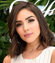 Olivia Culpo – Hairstyle for Thin Hair…  Olivia Culpo – Hairstyle for Thin Hair  http://www.tophaircuts.us/2017/06/12/olivia-culpo-hairstyle-for-thin-hair/