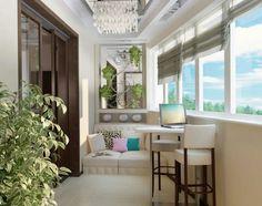 Home Decor: Smart Balcony Design Ideas Outdoor Seating Areas, Outdoor Rooms, Home Office Design, House Design, Small Balcony Design, Mid Century Modern Lighting, Inspiration Design, Design Ideas, Iron Furniture