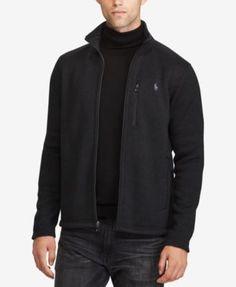 POLO RALPH LAUREN Polo Ralph Lauren Men's Fleece Zip-Up Jacket. #poloralphlauren #cloth #