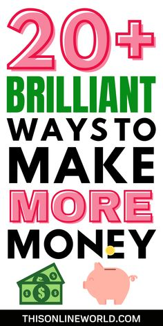 Developing passive income streams is hard work, but it's also rewarding. This post breaks down 21 different passive income ideas of varying difficulty to help get you started on the right track! #passiveincome #investing #moneymanagement #finance Passive Income Streams, Creating Passive Income, Ways To Get Money, How To Get Money, Online Jobs From Home, Make Money Online, Midlife Career Change, Apps That Pay You, Cash Today