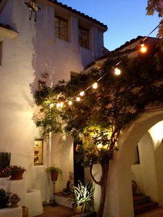 romantic outdoor lights