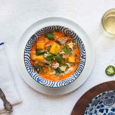 Thai pork and squash soup // Quick Dinner