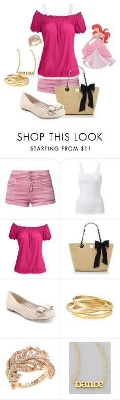 """Ariel"" by lovelylittledisney ❤ liked on Polyvore featuring Glamorous, Forever New, Kate Spade, Saks Fifth Avenue, Kenneth Cole, J.Crew, Dogeared and Disney"