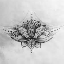Resultado de imagem para tattoo embaixo do seio feminina