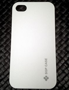 White Hard Back Cover For iPhone 4 & iPhone 4S