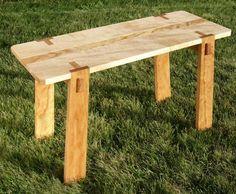 Wood Bench Idea