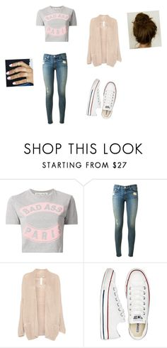 """""""Felling sporty"""" by dina-roussou ❤ liked on Polyvore featuring Être Cécile, rag & bone, Pull&Bear and Converse"""
