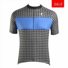 Loman Blue Cycling Jersey