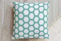 Hexipattern Pillow by Snow and Ivy | Minted