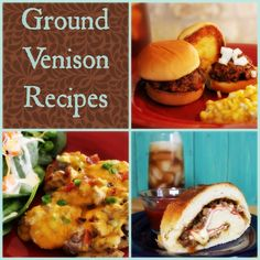 A complete collection of all Ground Venison Recipes |  My Wild Kitchen.com