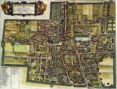Blaeu Atlas: Den Haag ca 1662, Netherlands.
