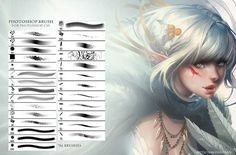 Photoshop CS5 Brushes by Sakimichan