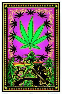 Weed Posters, Cool Posters, Cannabis Wallpaper, Weed Wallpaper, Stoner Art, Black Light Posters, Weed Art, Ganja, Naturaleza