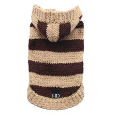 Hip Doggie Soft Stripe Hoodie   Sweaters & Coats   PetSmart