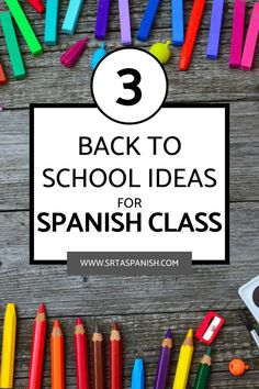 Are you looking for Back to School Activities for your Spanish class? Are you wondering what to do the 1st week of school in your Spanish classroom? Check out these awesome ideas for getting to know you activities, lesson plans for the first day of school, and a unit plan to start your Spanish curriculum off on the right foot! Your middle school and high school Spanish students will love these icebreaker activities and more! Click to read the post! Get To Know You Activities, Back To School Activities, Class Activities, Spanish Classroom, Teaching Spanish, Icebreaker Activities, Middle School Spanish, Spanish Lesson Plans, High School Students