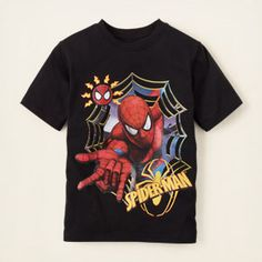 boy - graphic tees - Spider-Man graphic tee   Children's Clothing   Kids Clothes   The Children's Place