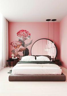 Room Design Bedroom, Bedroom Furniture Design, Room Ideas Bedroom, Home Room Design, Home Decor Bedroom, Home Interior Design, Wall Art For Bedroom, Bed Room, Interior Architecture