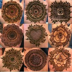 Best Round Mehndi Designs - Mehndi is all-time women's favorite and when talking about round mehndi designs, they turn out into crazy lovers of it. For Circular Mehndi Lovers this article brings the most amazing 40 designs that are simple and easy. Henna Hand Designs, Dulhan Mehndi Designs, Mehandi Designs, Mehendi, Round Mehndi Design, Mehndi Designs Finger, Palm Mehndi Design, Basic Mehndi Designs, Mehndi Designs For Beginners