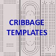 4 Classic Cribbage Board Templates You Can Download and Print