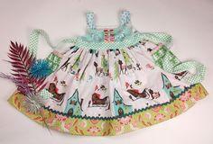 Matilda Jane Clothing ~ Belle Noel ~ 4th Name the dress Thursday #matildajaneclothing #MJCdreamcloset