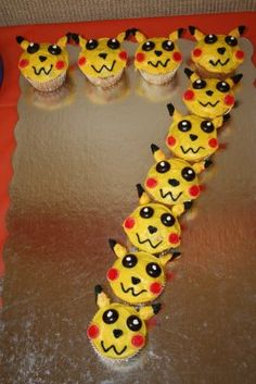 Love This Idea! Pokemon Cupcakes In Number (9)