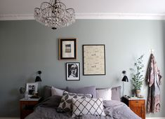 Wall Color Bedroom Colour Palettes Ideas For 2019 Interior, Bedroom Interior, Bedroom Colour Palette, Home Decor, Living Room Interior, Peaceful Bedroom, Interior Inspo, Wall Color, Bedroom Wall Colors