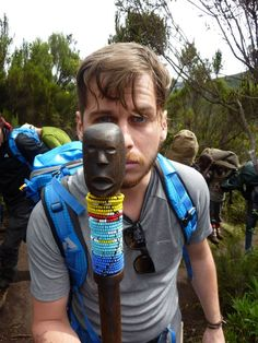 Mark Foster climbed Mt Kilimanjaro along with a group of artists and activist to bring awareness to the global clean water crisis <3