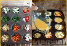 Mini Omelets – Perfect for breakfast on the go!