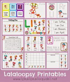 Lalaloopsy: Libro de Actividades para Imprimir Gratis. - Ideas y material gratis para fiestas y celebraciones Oh My Fiesta!