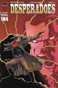Desperadoes # 4 Image Comics