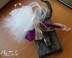 MaZulu / pre ženícha vo fialovoBielom