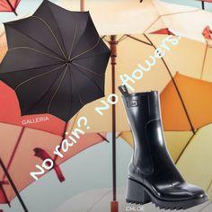 Stylish Raincoats, Rain Fashion, Pumps, Heels, Hunter Boots, Rubber Rain Boots, Christian Louboutin, Instagram, Heel