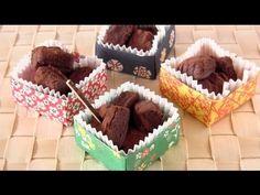 How to Make Sake Nama Choco (Chocolate Truffles) for Valentine's Day in Origami Box 酒生チョコ - YouTube
