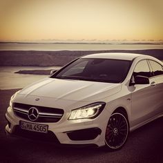 Mercedes Benz CLA45 AMG.  Car of the Day: 13 June 2015.