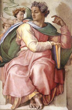 Isaiah - Michelangelo - Gallery of Sistine Chapel ceiling - Wikipedia, the free encyclopedia
