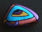 TRY-MYSTERY! Hand-Painted Stone