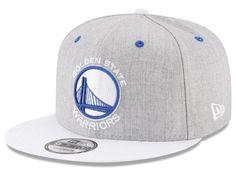 outlet store 0a2e4 2264b Golden State Warriors New Era NBA White Vize 9FIFTY Snapback Cap
