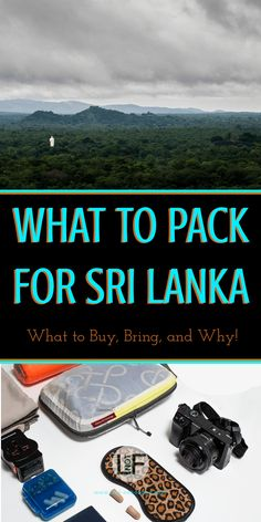 Packing for Sri Lanka can be complicated if you are not prepared. With this you will be prepared for all the weather and situations you could encounter! | LOST NOT FOUND | #PackingList #SriLanka #AsiaTravel
