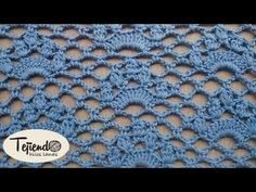 Punto jazmin a ganchillo | Crochet Jasmine stitch - YouTube