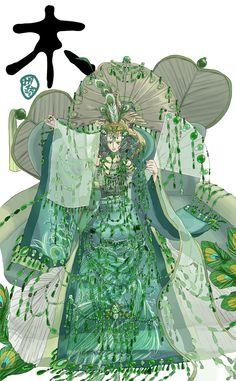 peacock anime - Google Search