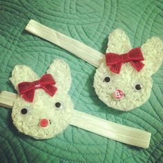 Easter bunny headbands!!!