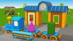 Cartoni Animati per Bambini - Camion Leo Junior e la nuova stazione del ...