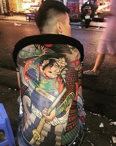 Japanese Tatoo, Japanese Tattoos For Men, Japanese Tattoo Symbols, Traditional Japanese Tattoos, Japanese Tattoo Designs, Japanese Art, Yakuza Tattoo, Samurai Tattoo, Full Body Tattoo